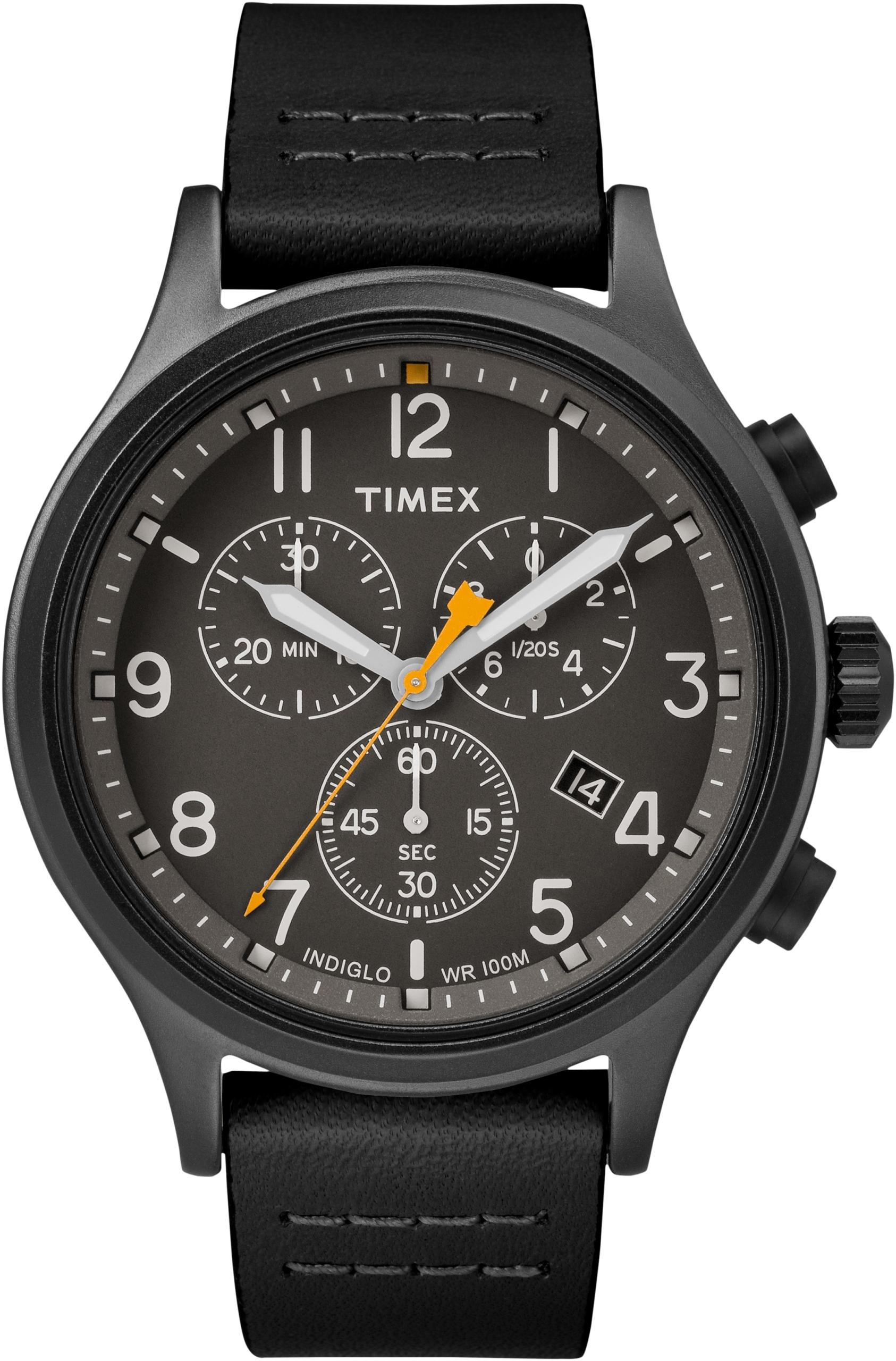 Zegarek męski Timex TW2R47500 Allied Chrono czarny