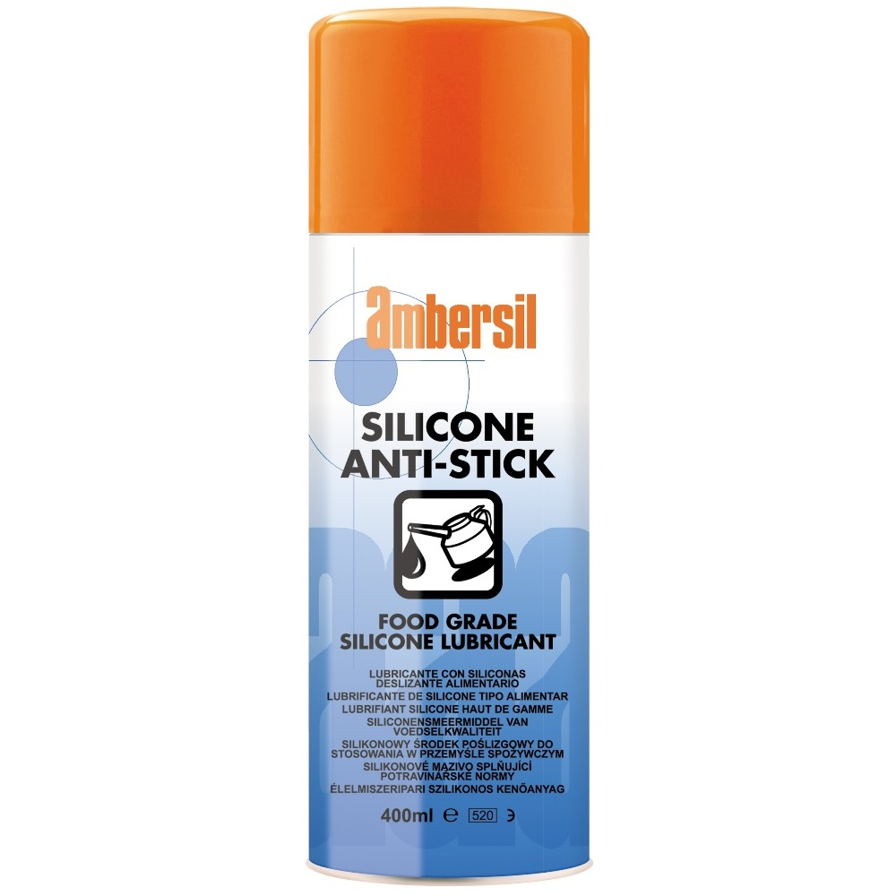 Ambersil Silicone Anti-Stick средство нанести