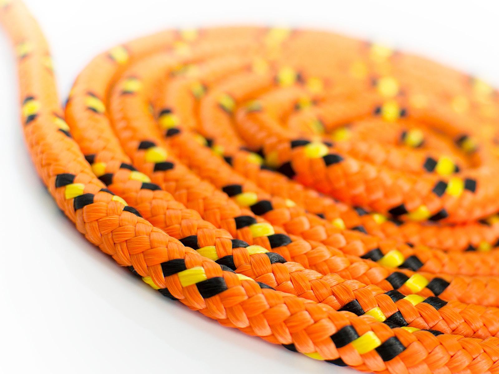 Купить Трос полипропиленовый плетеный оранжевый 8мм 1м на Otpravka - цены и фото - доставка из Польши и стран Европы в Украину.