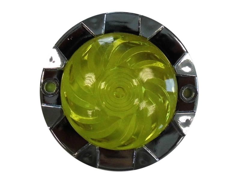 Náboženské svietidlo Karuzela 66 mm Kidmann - žltá
