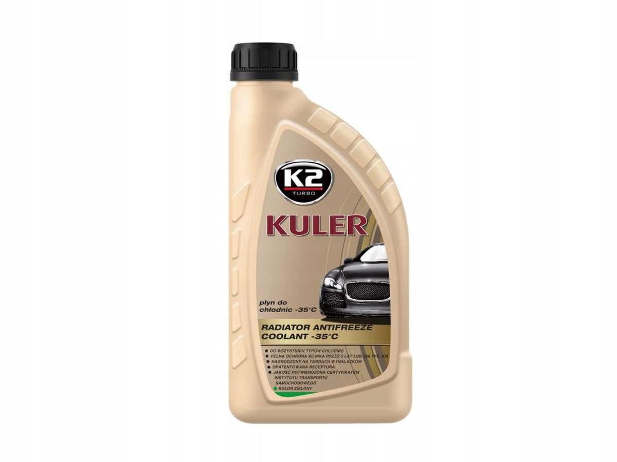 K2 Kuler жидкость для радиаторов -35°C зеленый T201Z 1Л
