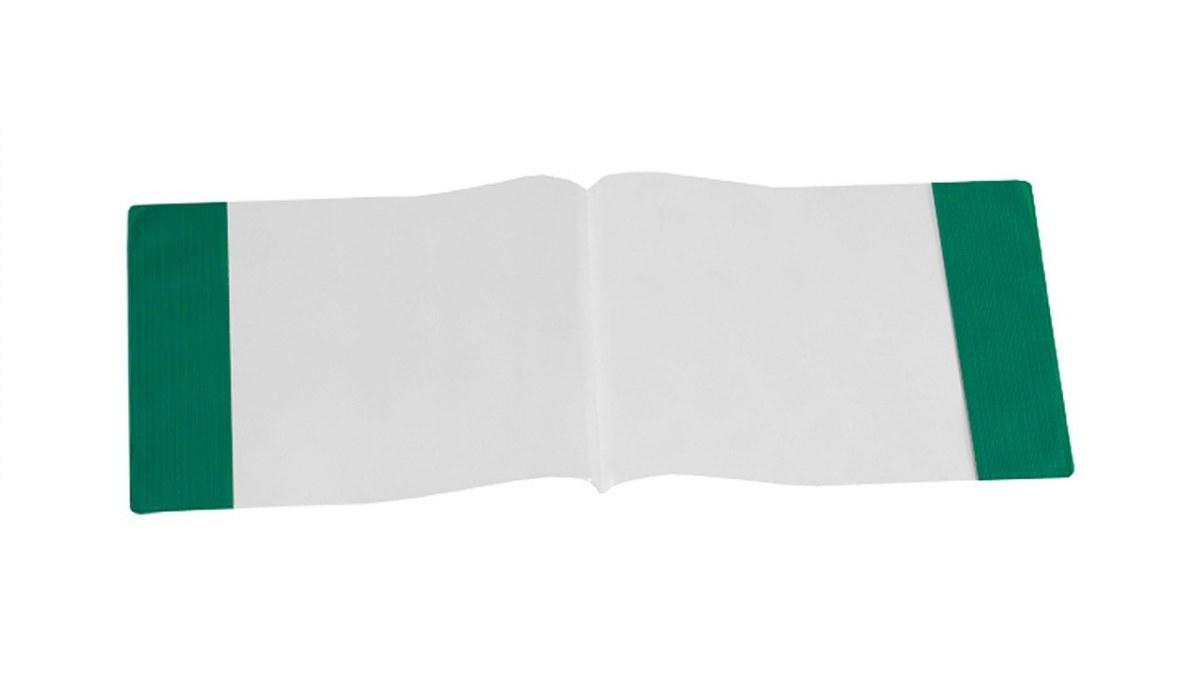 Kryt notebooku pre poznámky transparentné hudba