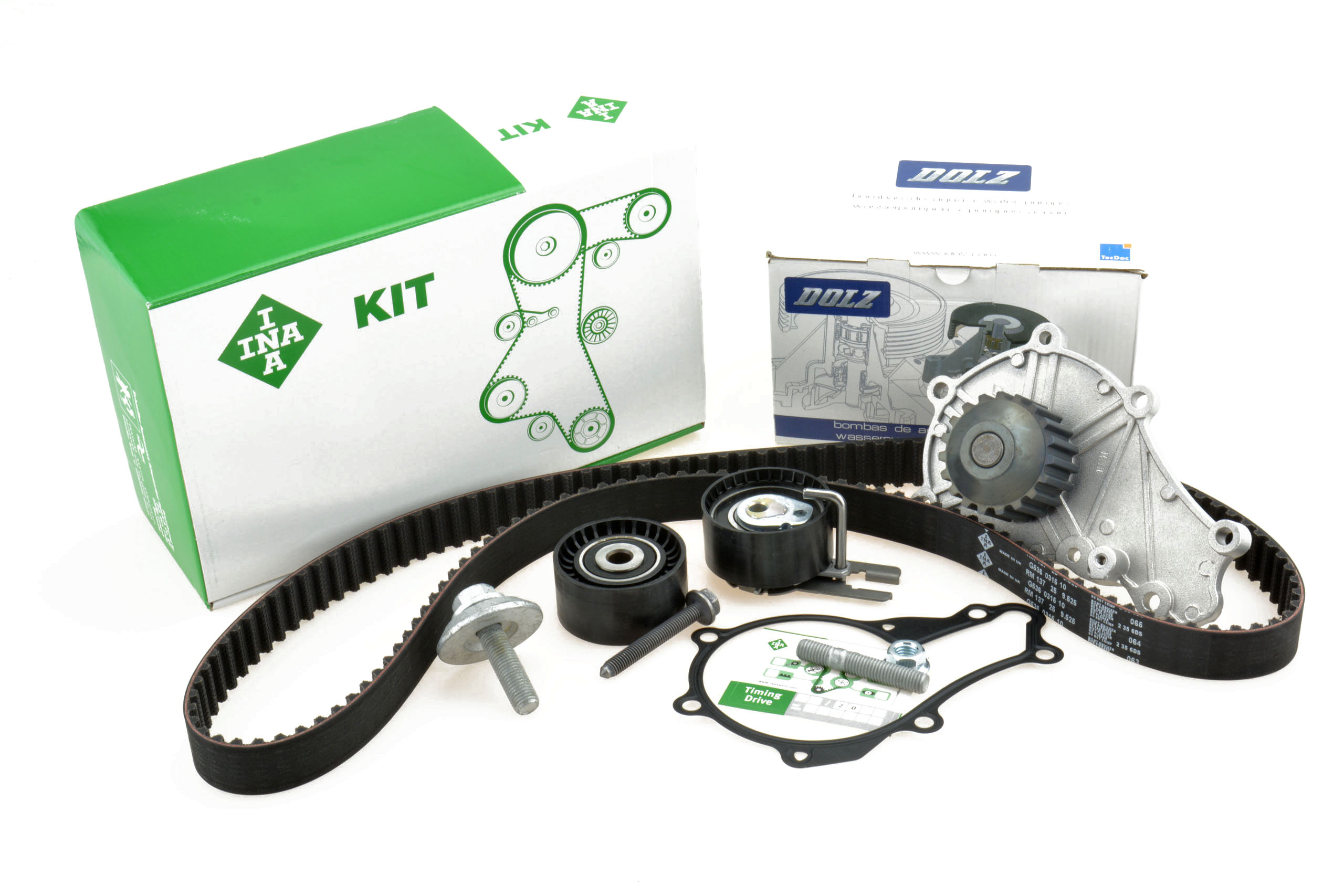 ina двигатель +pompa ford focus mk2  c-max 16 tdci