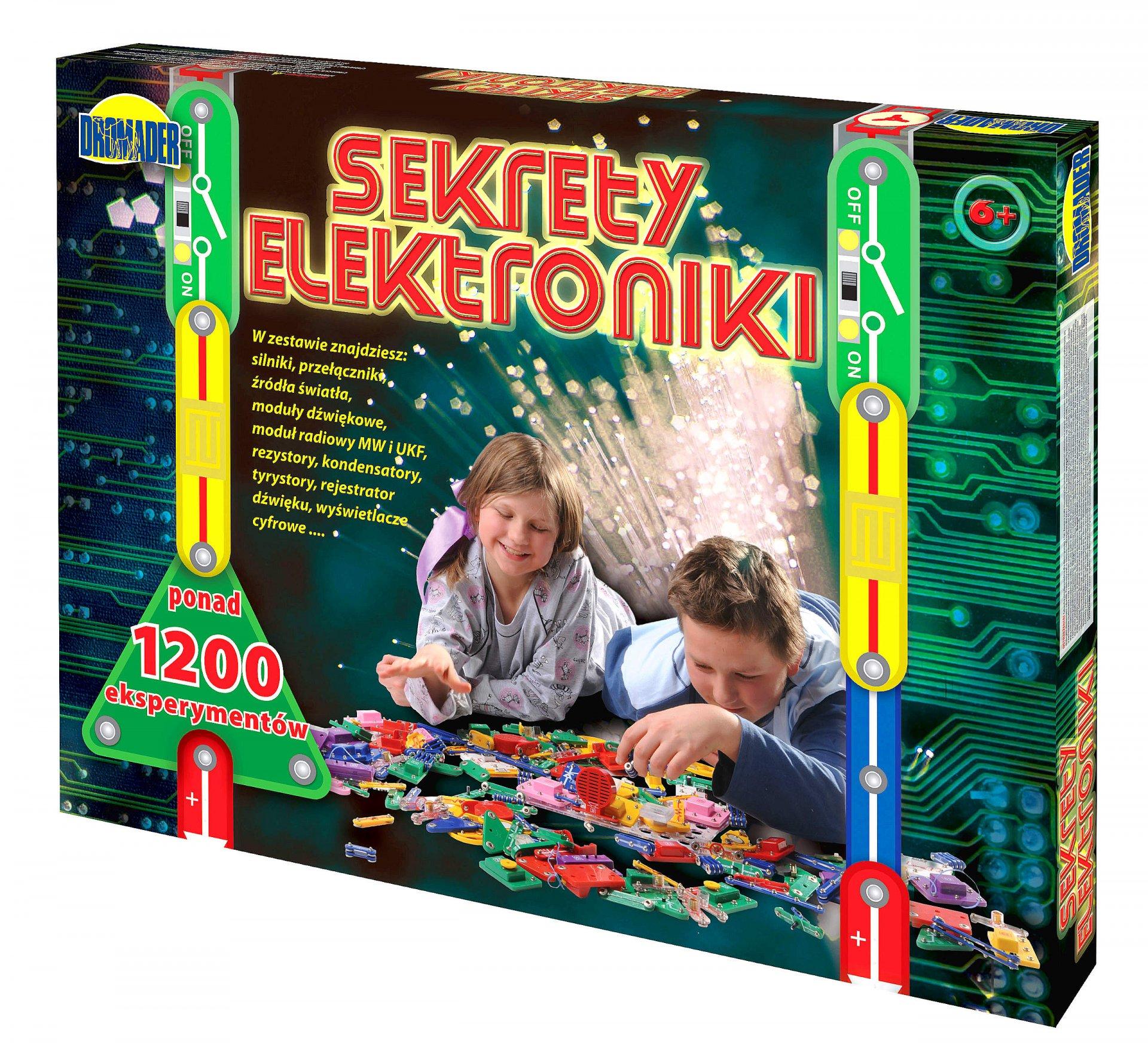 MALÉ ELEKTRONICKÉ TAJOMSTVO ELEKTRONIKY 1200 SKÚSENOSTÍ ZÁŽITOK!