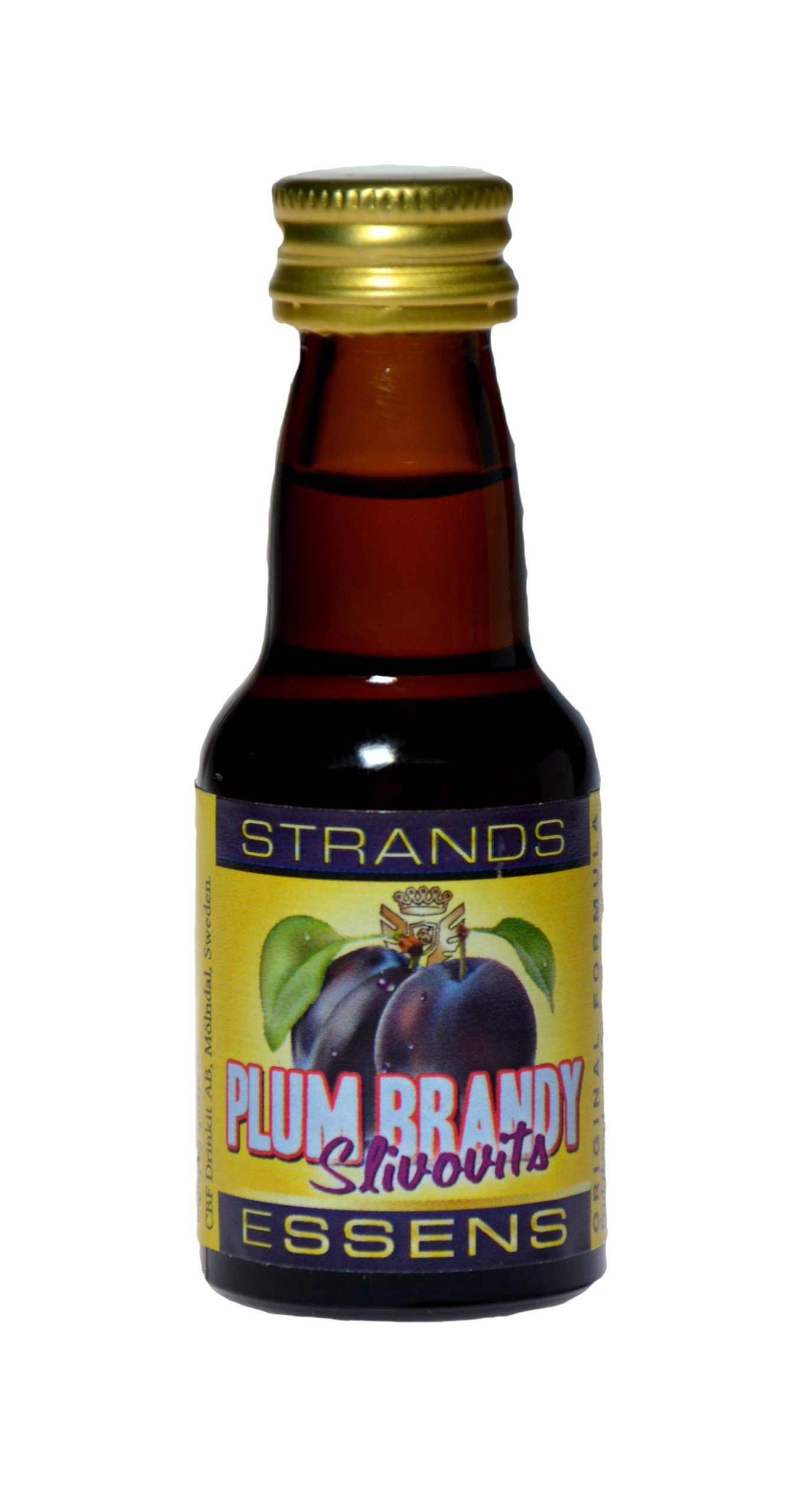 Zaprawka do alkoholu STRANDS PLUM BRANDY śliwkowa