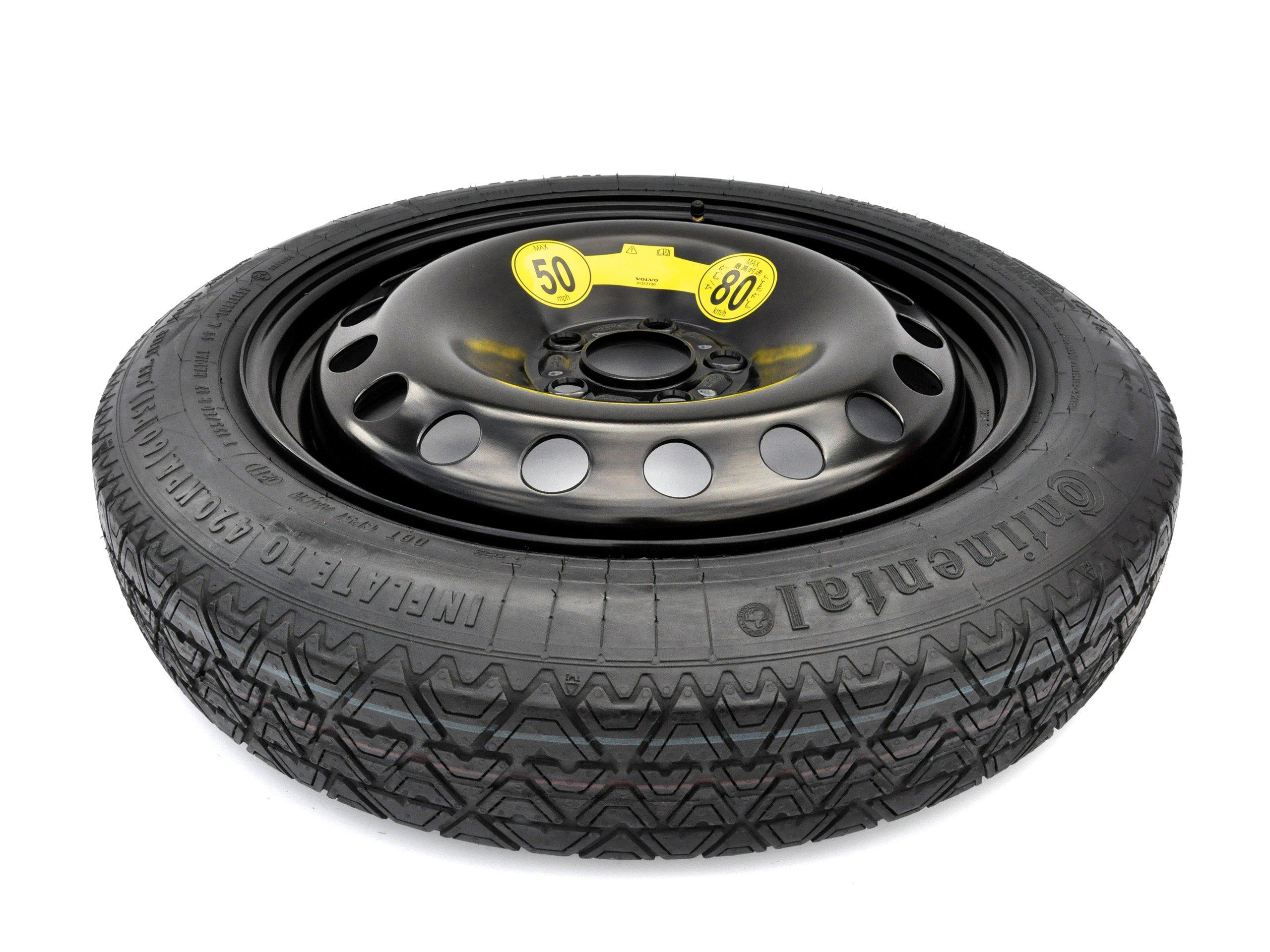 колесо докатка 125/80/17 5x108 volvo s80, s60, v60