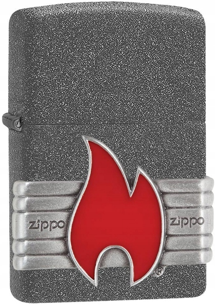 WRO Zippo zapaľovač Zippo 29663 Červená Vintage Zábal