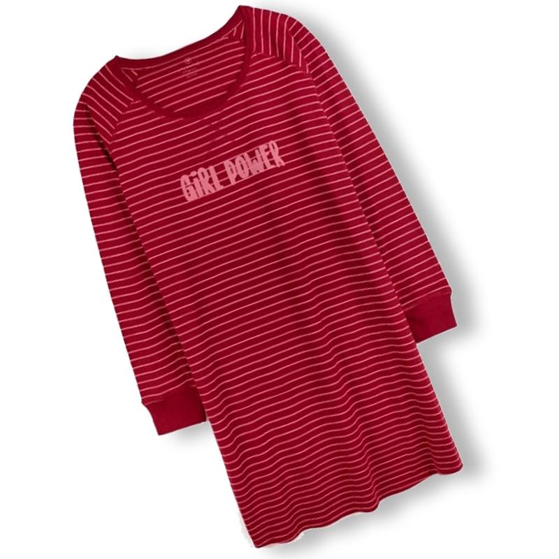 Atlantic koszula nocna Nld 240 Bor 3/4 rękaw L