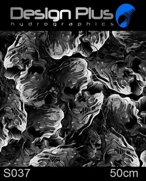Hydrografia Hydrografická fólia lebka S037