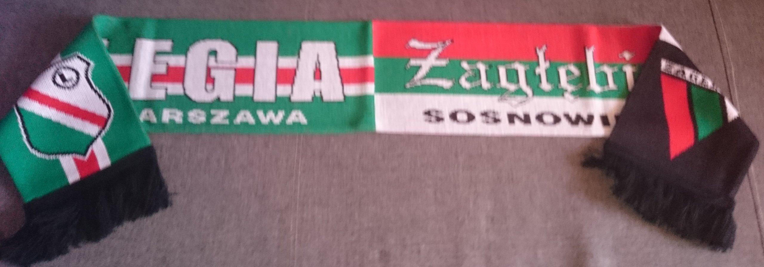 Купить шарфик Легия SOUNDBARA  ZAGLEBIE СОСНОВЕЦ на Eurozakup - цены и фото - доставка из Польши и стран Европы в Украину.
