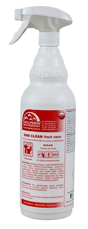 Dolphin Sani Clean do czyszczenia łazienki 1L