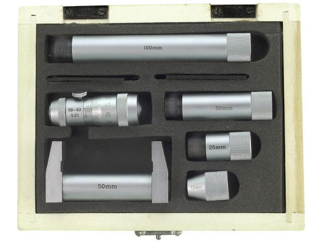 Mikrometrické médium. Obmedzenie 50-600 mm