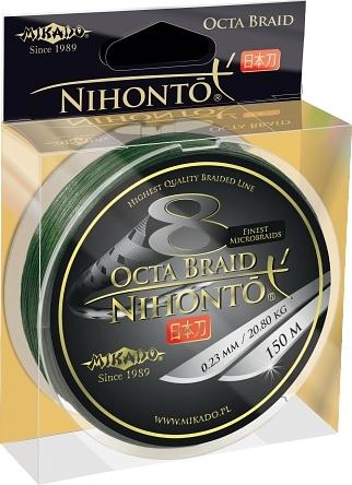 Mikado Nihonto Peňa Braid 0.14mm Zelená