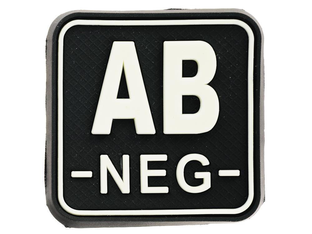 Velcro Stripe Blood Group JTG Gid AB mínus / AB-