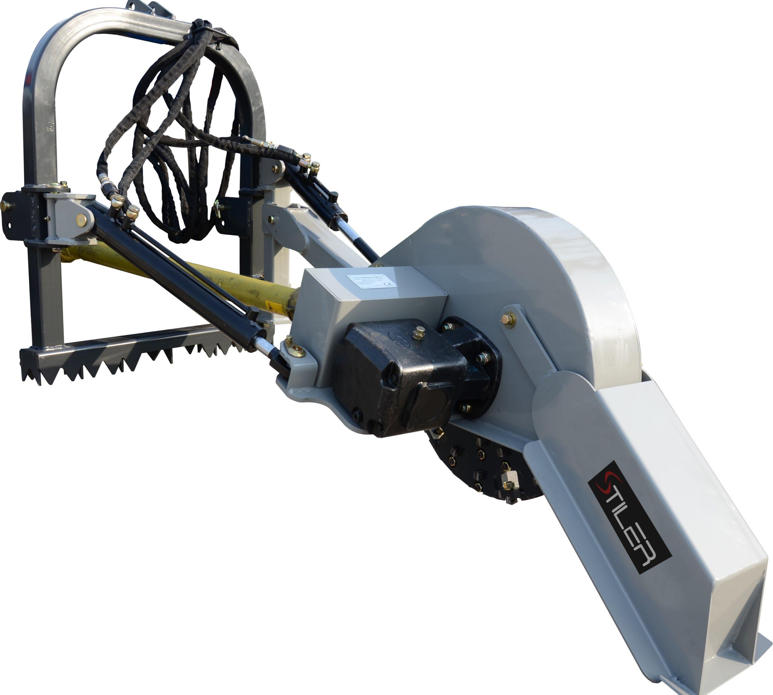Silné frézovacie stroje bežec stromy stiler tuz wom