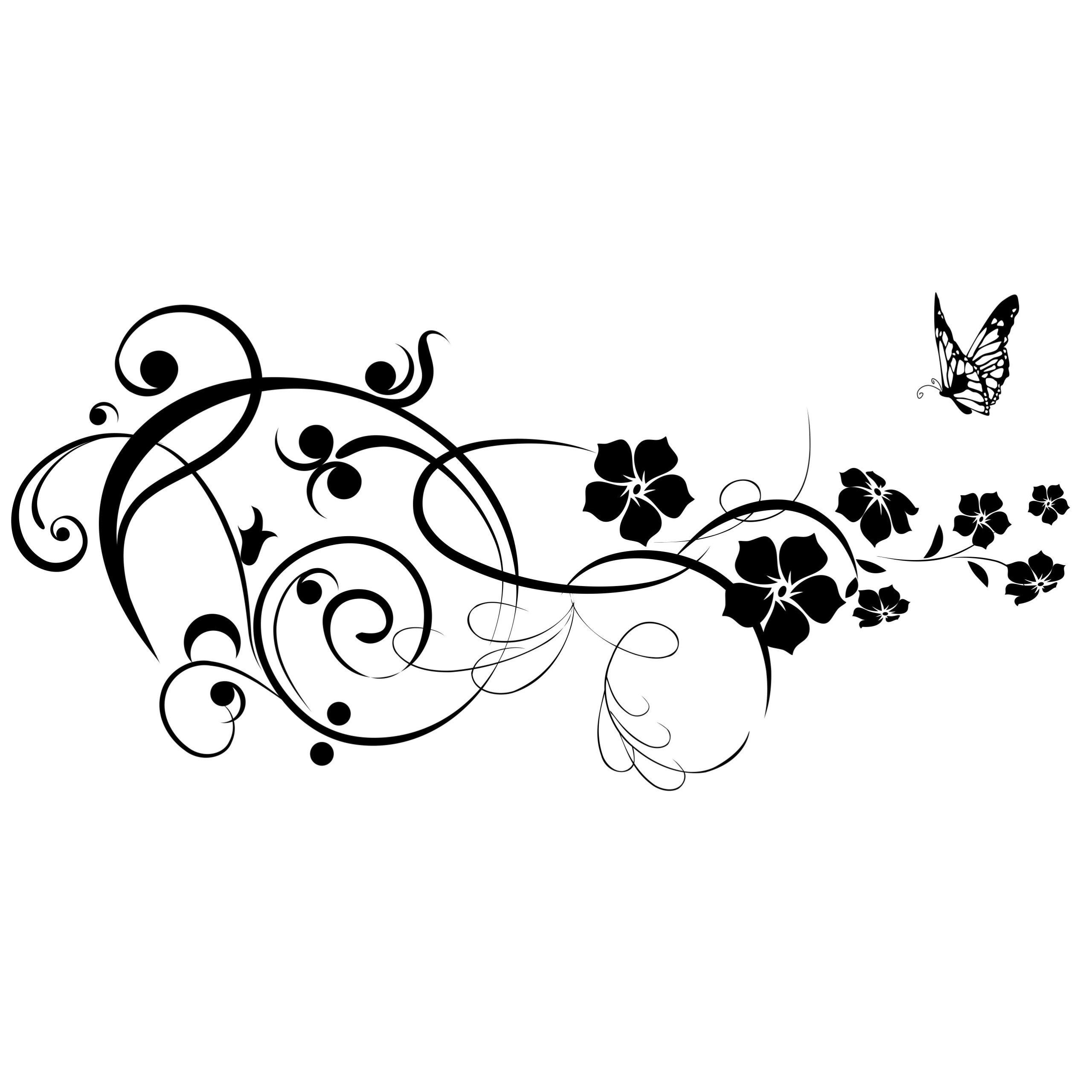 Kvety rastliny maľovanie šablóny šablóny l
