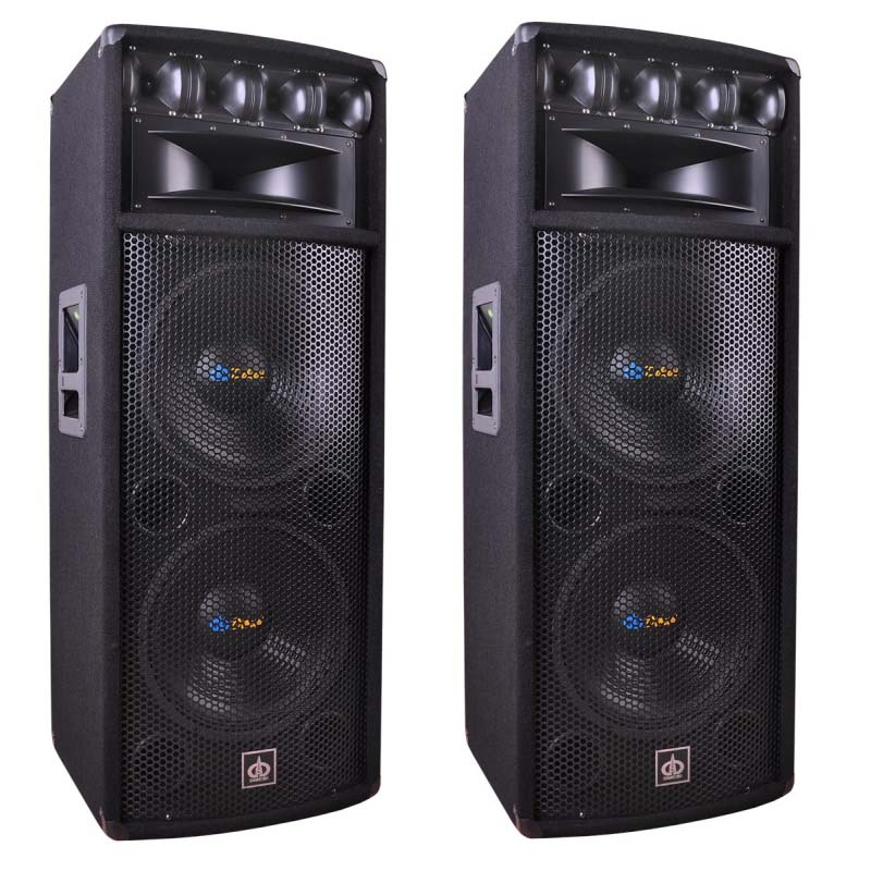 Item POWERFUL BIG SPEAKERS ADAPTIVE 1600W 2PCS SOLID
