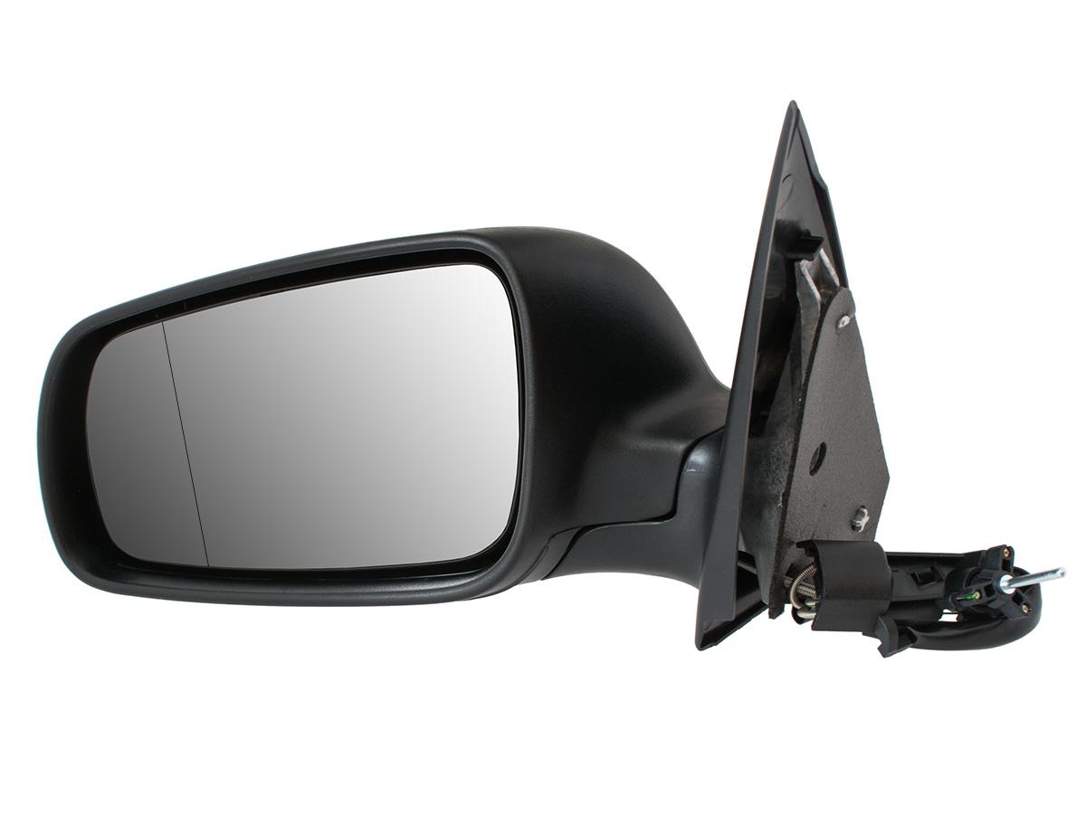 зеркало ручные черные левое skoda fabia i 99-08