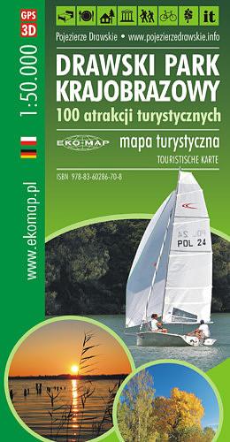 Купить КАРТА Sempertex ДОСТОПРИМЕЧАТЕЛЬНОСТЕЙ DRAWSKI ЛАНДШАФТНЫЙ ПАРК 2019 на Eurozakup - цены и фото - доставка из Польши и стран Европы в Украину.