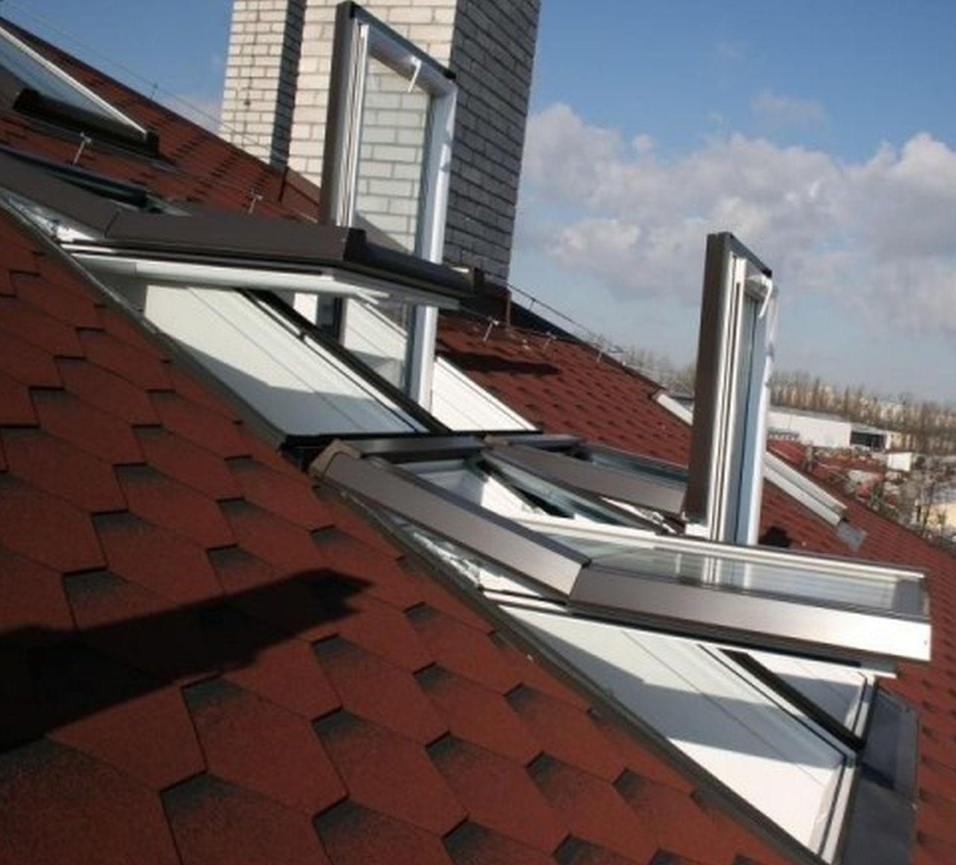 Okno Dachowe łazienkowe 55x78 Pcv Do łazienki Okna