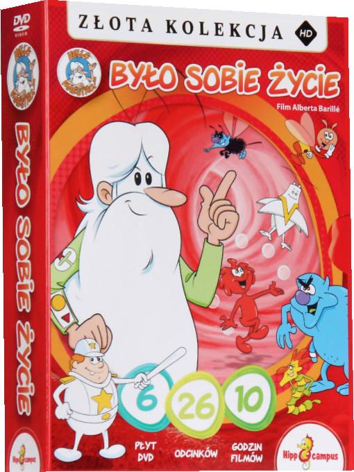 BYŁO SOBIE ŻYCIE  BOX  6 DVD  26 ODCINKÓW