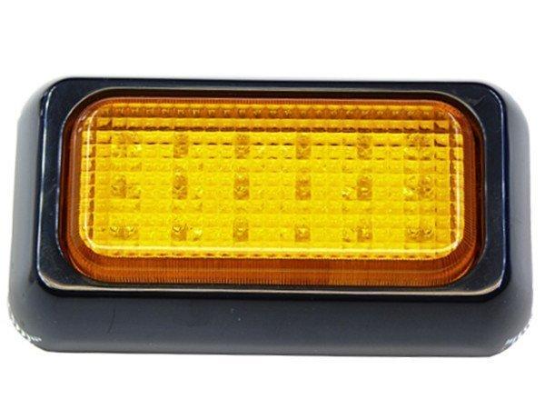 Лампа 18 СВЕТОДИОДНЫЙ Стробоскоп 10x6 см оранжевый 12v 24v