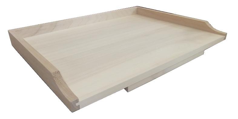Square jednostranný drevený malý valček