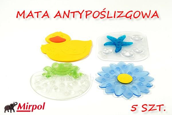 MATA ANTYPOŚLIZOGOWA KOSTKI 14X14CM 5SZT. 6302397803 - Allegro.pl