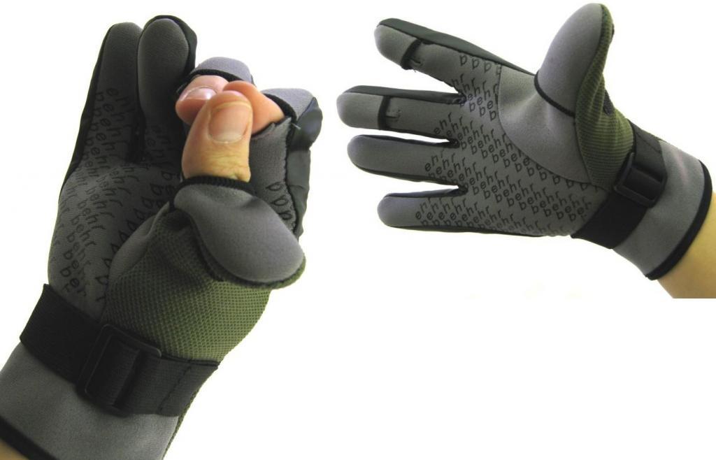 Teplé, ľahké neoprénové rukavice. L