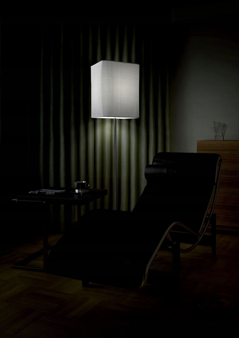 Podlahová lampa MAXlight MICHIGAN F0001
