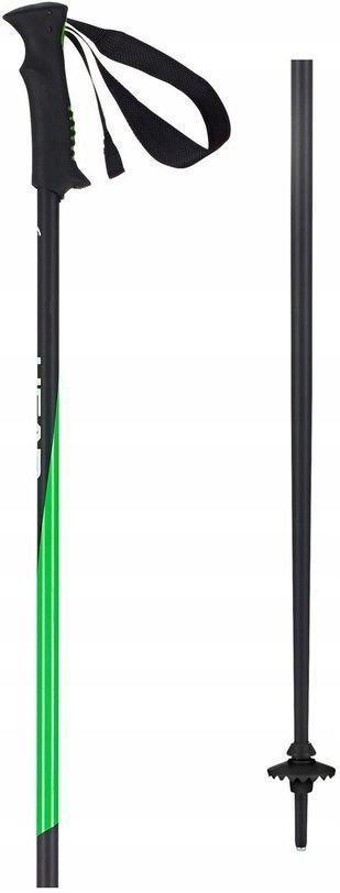 Držať HLAVU PRO ČIERNA NEON ZELENÁ / Dĺžka: 130 cm
