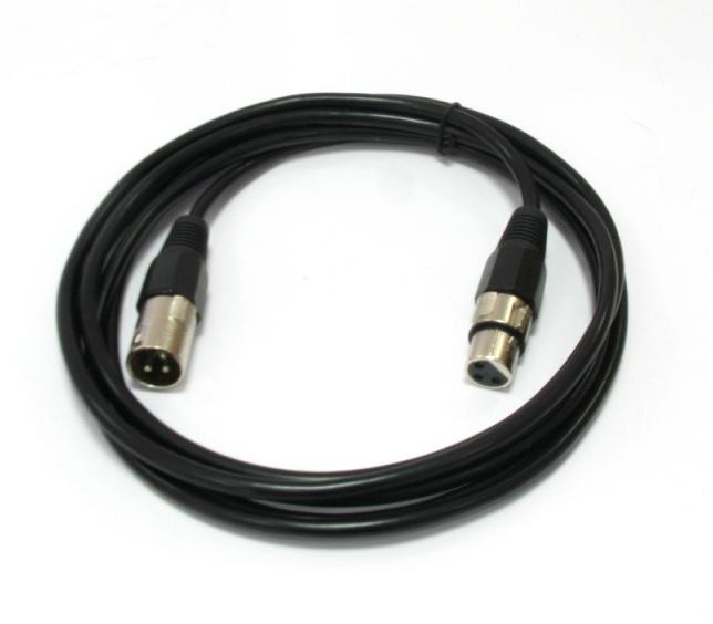 3m Kábel mikrofónu CANON XLR Káblový mikrofón 3