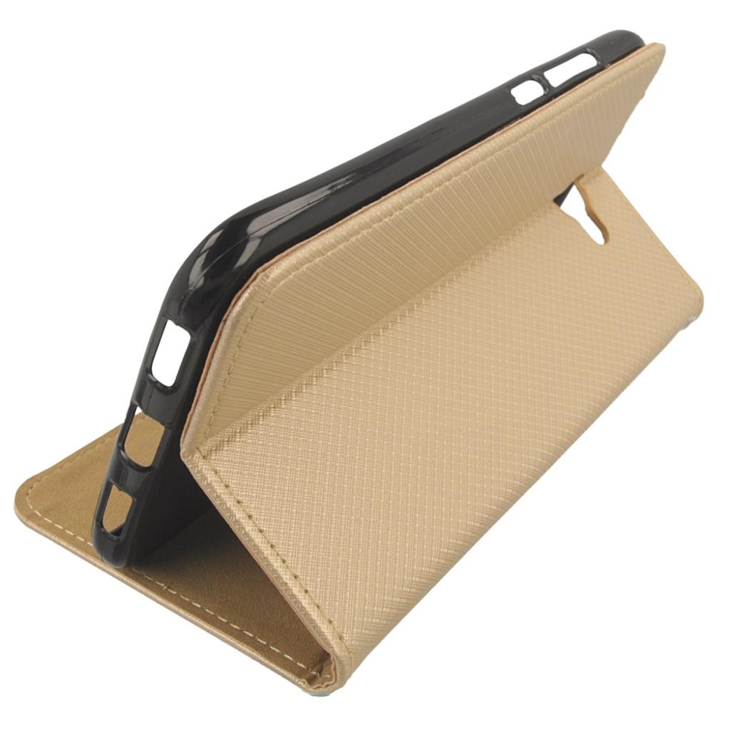 Etui Boczne Futerał Case + Szkło 9H na Huawei Y7