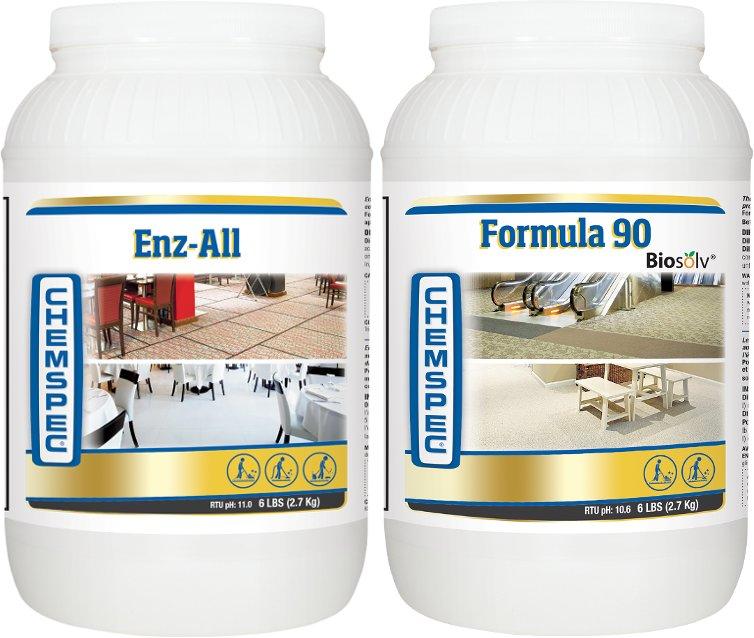 CHEMSPEC Enz-All Formula 90 MEGA zestaw do prania
