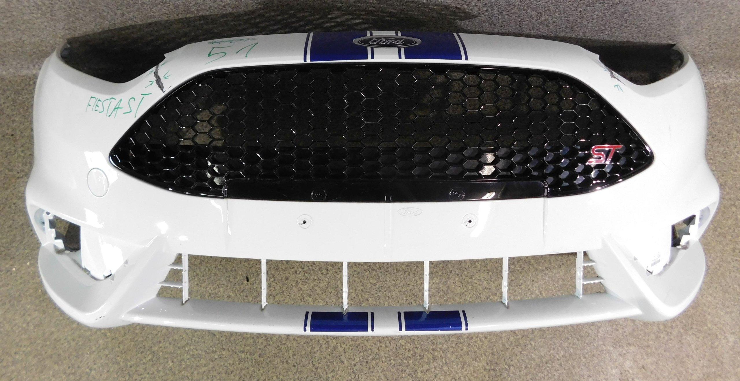 ford fiesta st mk7 lift 13- бампер передний вперед
