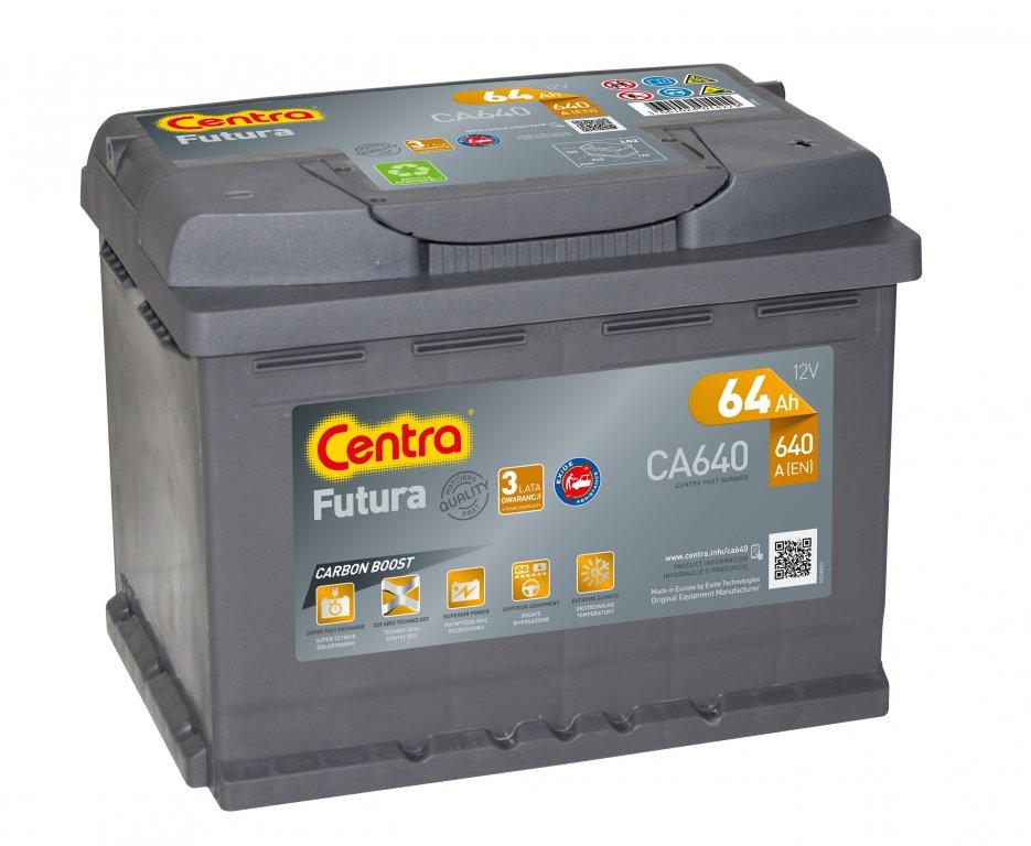 аккумулятор центры futura ca640 64ah 640a