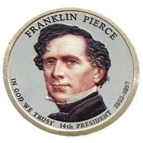 Franklin Pierce 2010 - obojstranná farba