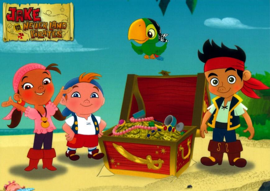 Jake a nikdy pozemky piráti 04