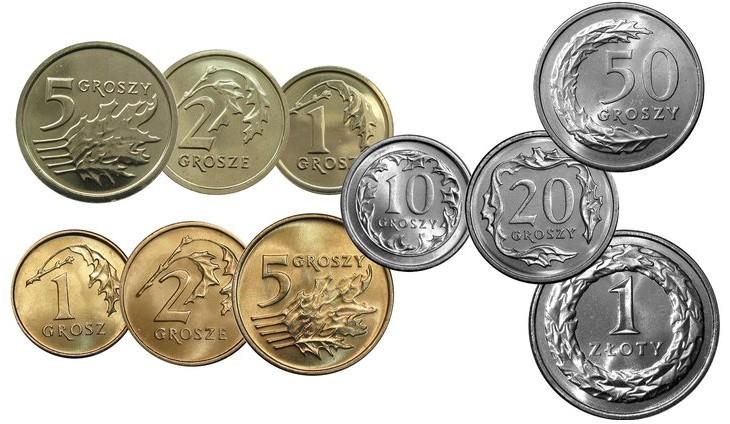 2013 полный комплект винтаж сет 1,2,5,10,20,50 гр 1 злотый