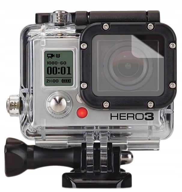 3x Folia ochronna na obiektyw do GoPro Hero 3 Lens