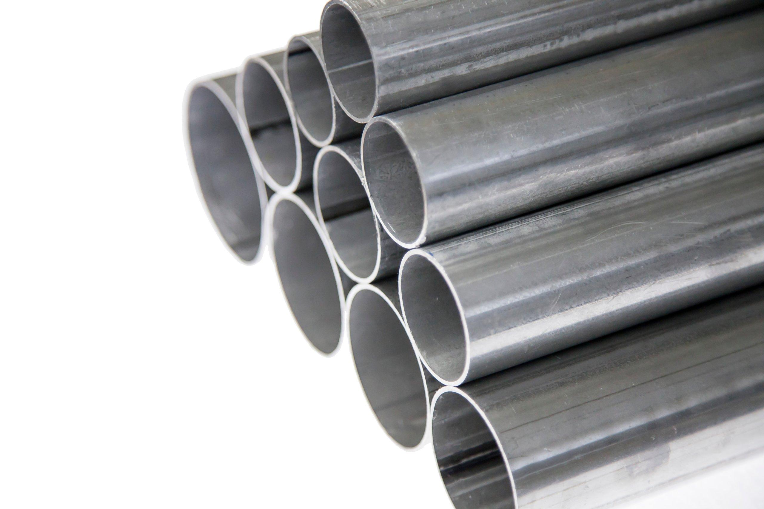 Резка алюминиевой трубы, фи 35 мм, изготовлена на заказ