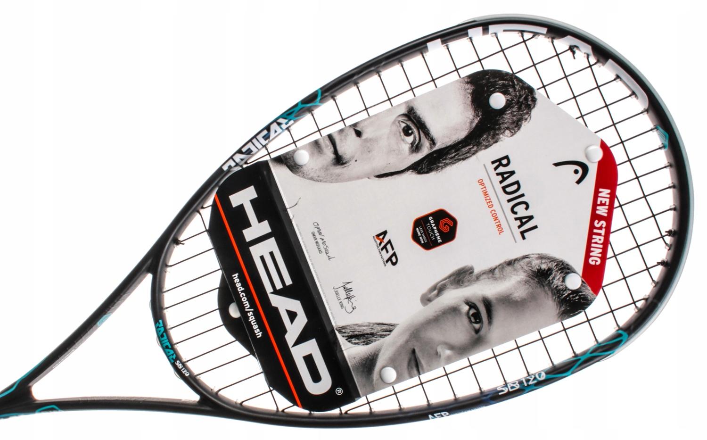 Squash raketa HEAD Grafén Radikálne Dotyk 120 SB