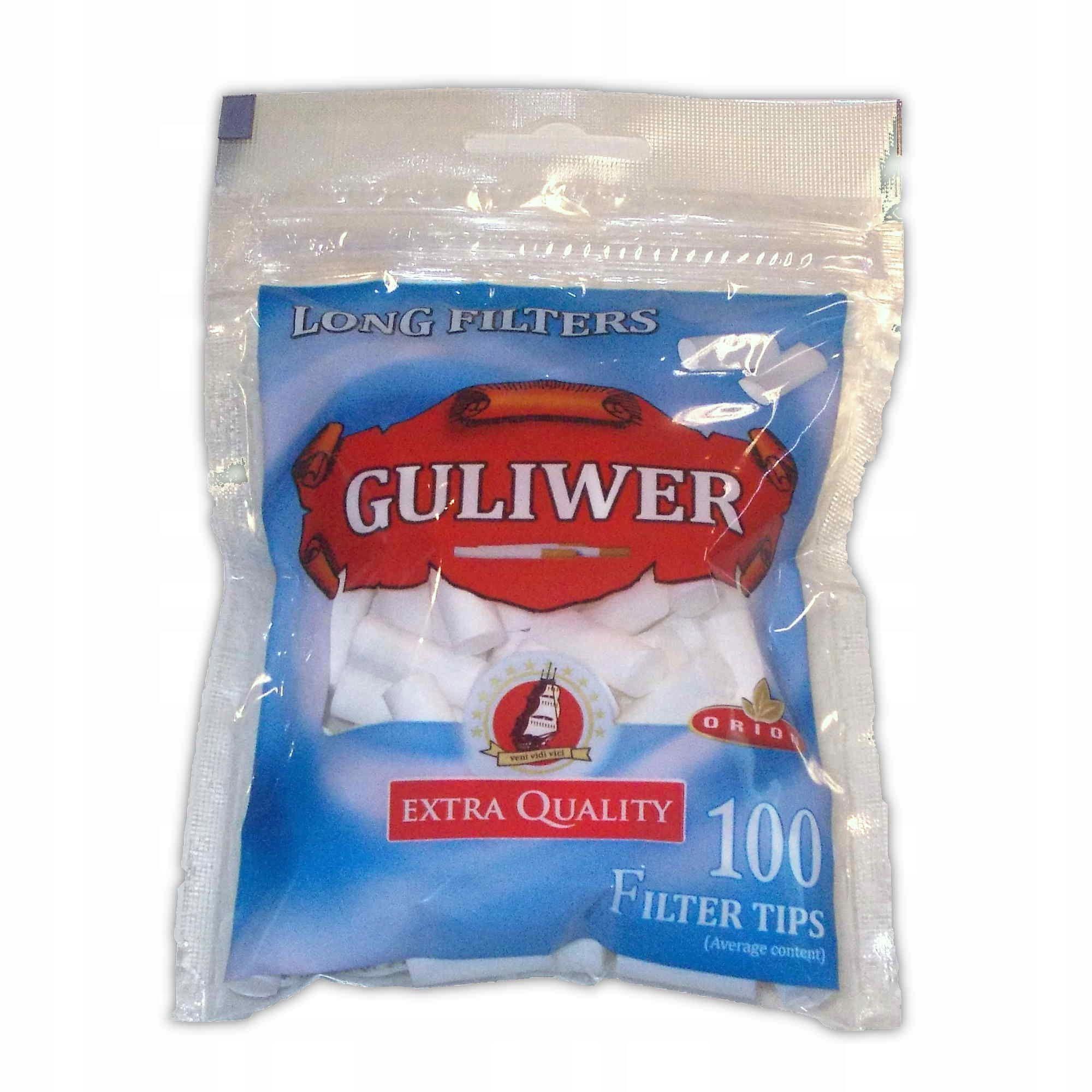 Фильтры Гулливер Лонг 20 мм для сигарет