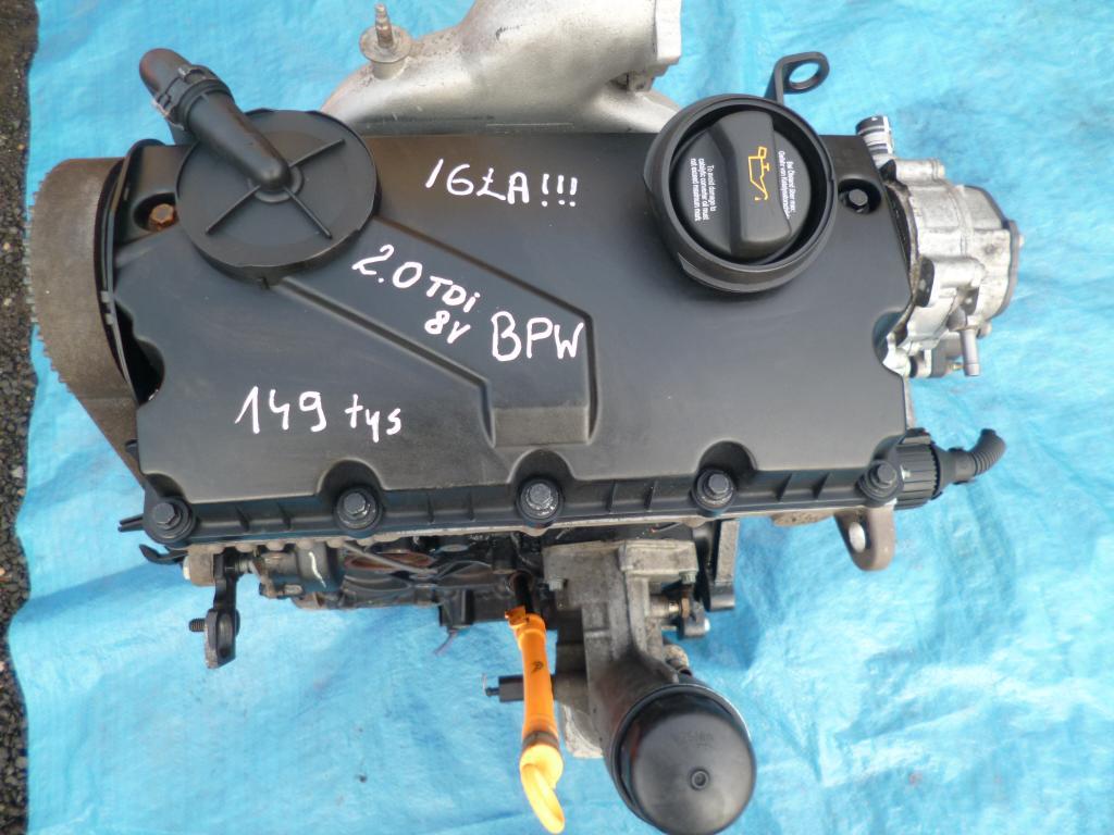 Silnik Audi A4 A6 2.0 tdi 8v BPW Gwarancja Wymiana