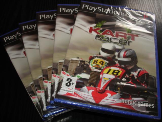 Kart Racer [Nové] gokardy PS2 hra