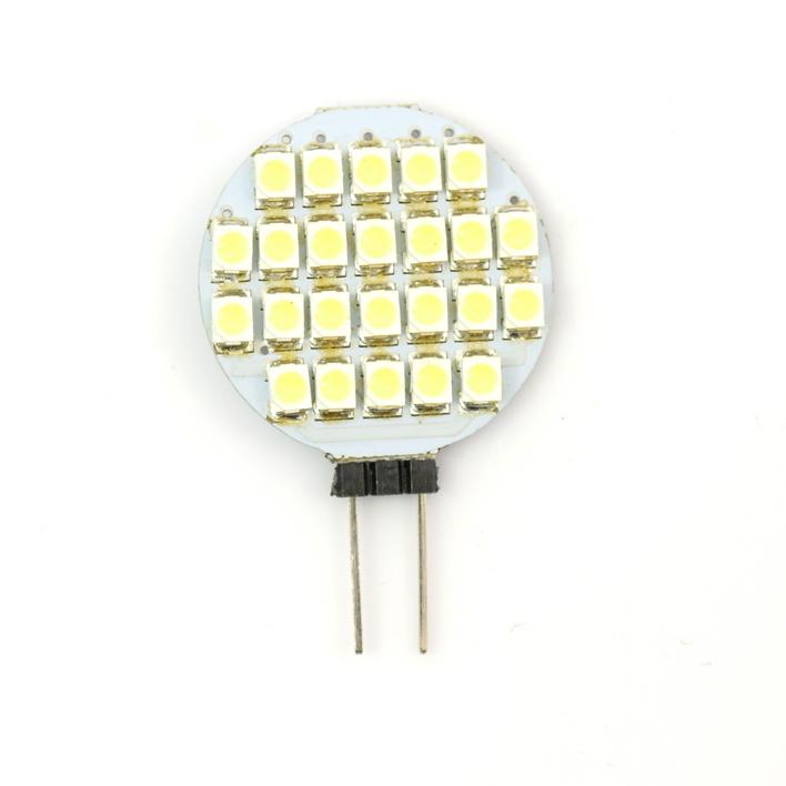 Bulb G4 24 LED 12VDC 2.4W SMD 160LM
