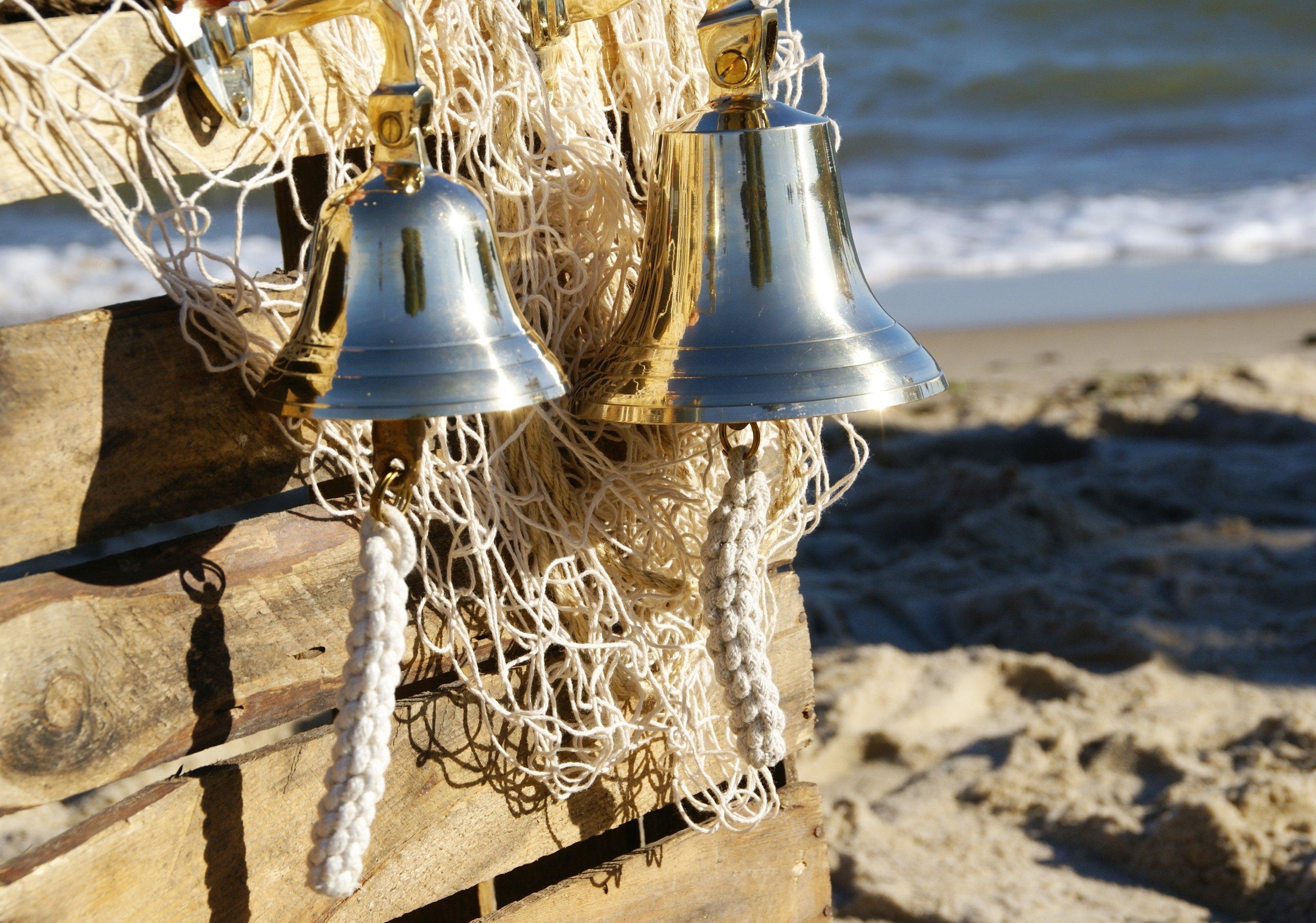Bell Svetujte na jachte mosadze
