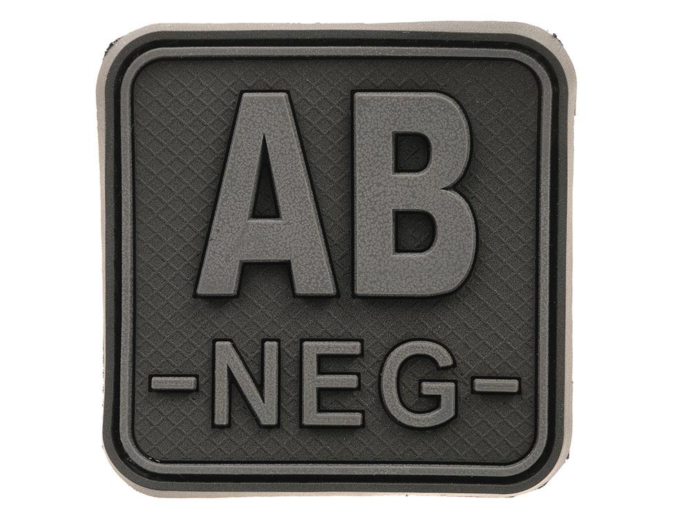 Náhrdelník Krvná skupina JTG Black ops AB mínus / AB-
