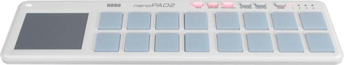 KORG NANOPAD 2 WH - MIDI USB CONTROL