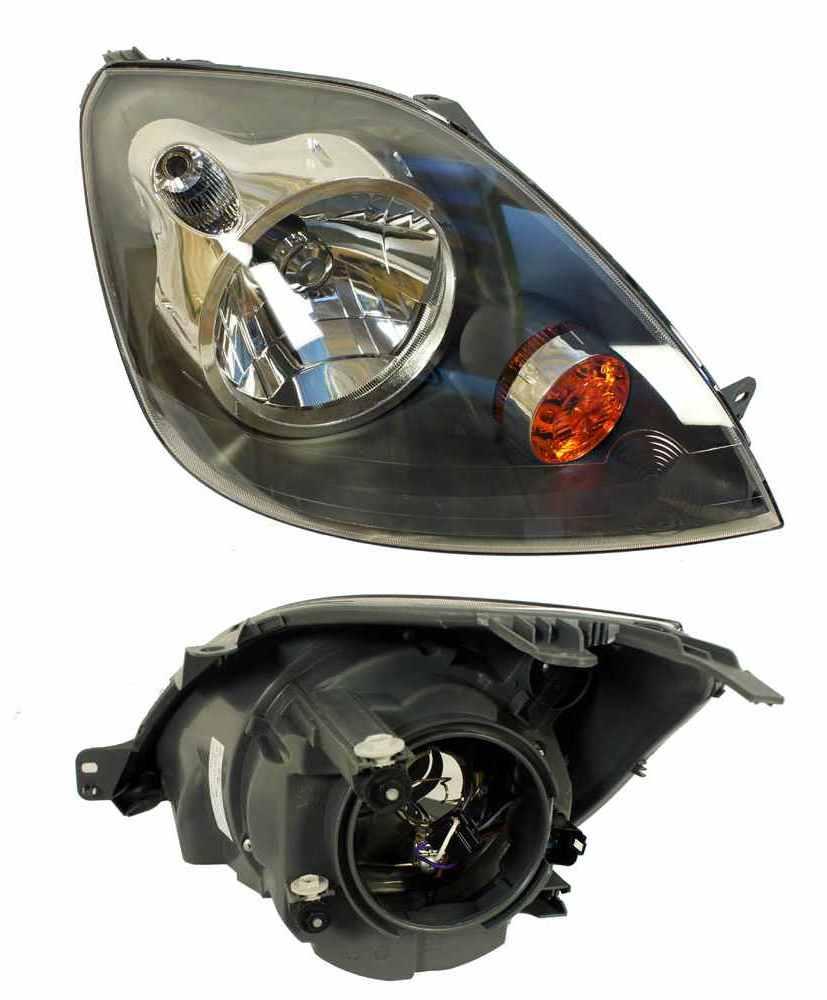 фары лампа ford fiesta mk6 05-08 двигатель права